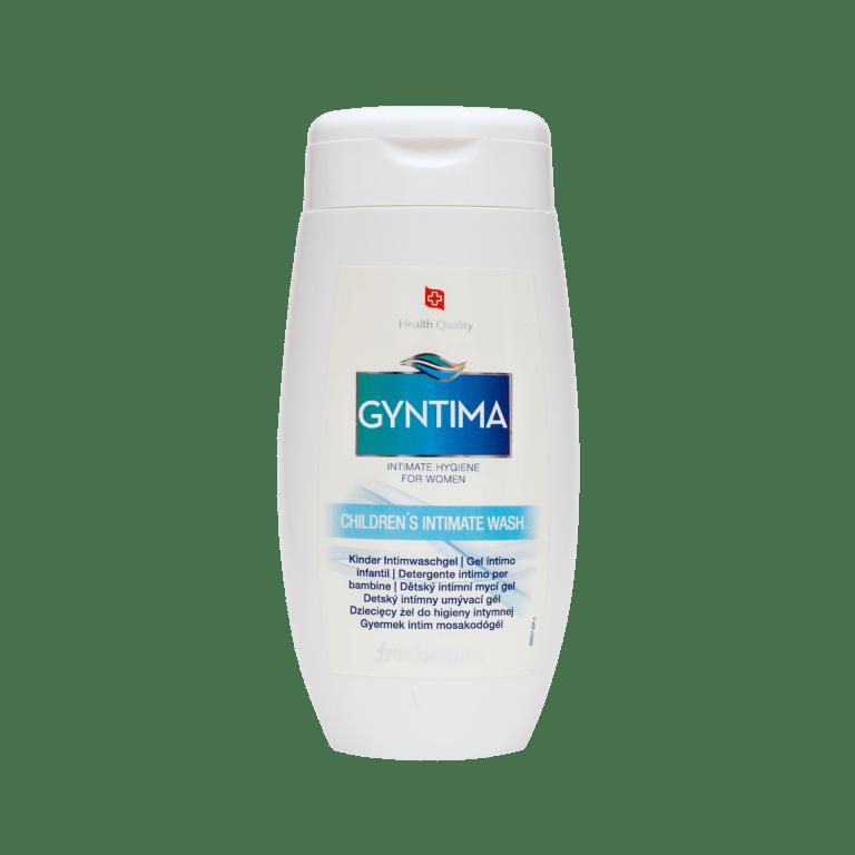 Gyntima dětský intimní mycí gel